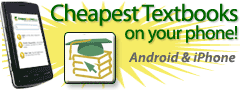 Download the Cheapest Textbooks Mobile Application
